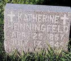 HENNINGFELD, KATHERINE - Sioux County, Iowa | KATHERINE HENNINGFELD