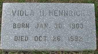 HENNRICH, VIOLA - Sioux County, Iowa | VIOLA HENNRICH
