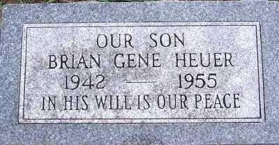 HEUER, BRIAN GENE - Sioux County, Iowa | BRIAN GENE HEUER