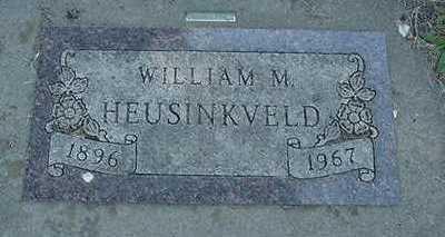 HEUSINKVELD, WILLIAM M. - Sioux County, Iowa | WILLIAM M. HEUSINKVELD