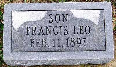 HEVERN, FRANCIS LEO - Sioux County, Iowa | FRANCIS LEO HEVERN