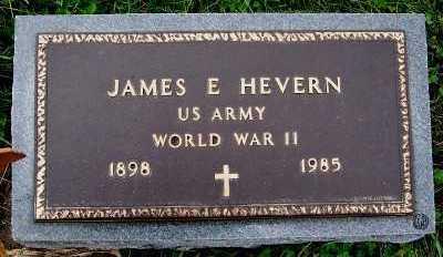 HEVERN, JAMES E. - Sioux County, Iowa   JAMES E. HEVERN