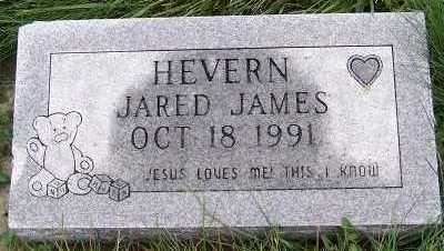 HEVERN, JARED JAMES - Sioux County, Iowa   JARED JAMES HEVERN