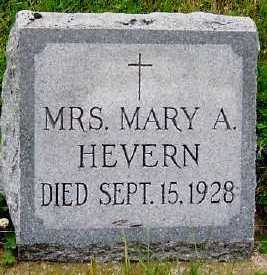 HEVERN, MARY A. - Sioux County, Iowa | MARY A. HEVERN