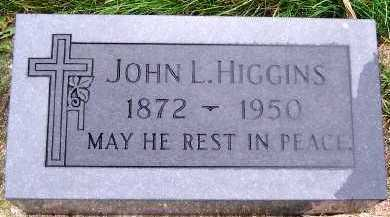 HIGGINS, JOHN L. - Sioux County, Iowa | JOHN L. HIGGINS