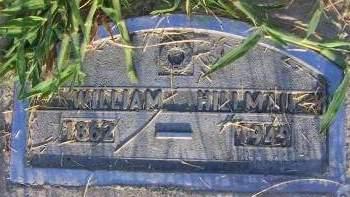 HILLMAN, WILLIAM - Sioux County, Iowa | WILLIAM HILLMAN