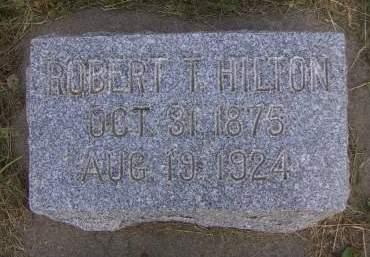 HILTON, ROBERT T. - Sioux County, Iowa   ROBERT T. HILTON