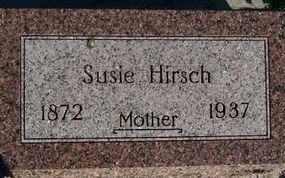 HIRSCH, SUSIE - Sioux County, Iowa | SUSIE HIRSCH