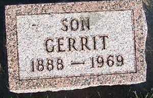 HOEFAKKER, GERRIT - Sioux County, Iowa | GERRIT HOEFAKKER