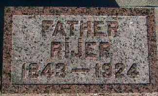 HOEFAKKER, RIJER - Sioux County, Iowa   RIJER HOEFAKKER