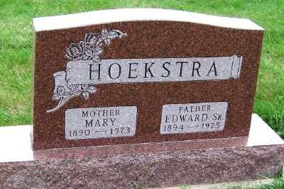 HOEKSTRA, MARY - Sioux County, Iowa | MARY HOEKSTRA