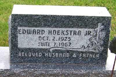 HOEKSTRA, EDWARD JR. - Sioux County, Iowa | EDWARD JR. HOEKSTRA