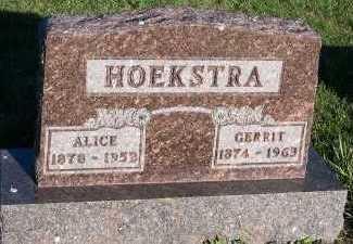 HOEKSTRA, GERRIT - Sioux County, Iowa | GERRIT HOEKSTRA