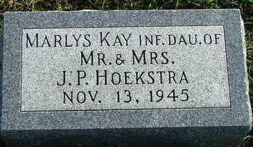 HOEKSTRA, MARLYS KAY - Sioux County, Iowa   MARLYS KAY HOEKSTRA