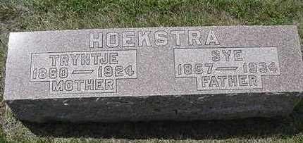 HOEKSTRA, TRYNTJE - Sioux County, Iowa | TRYNTJE HOEKSTRA
