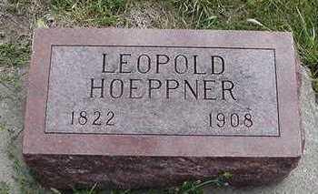 HOEPPNER, LEOPOLD - Sioux County, Iowa   LEOPOLD HOEPPNER
