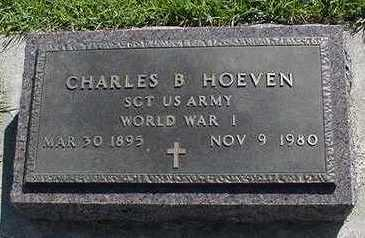 HOEVEN, CHARLES B. - Sioux County, Iowa | CHARLES B. HOEVEN