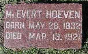 HOEVEN, EVERT - Sioux County, Iowa | EVERT HOEVEN