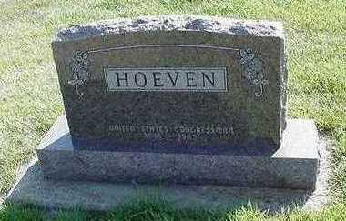 HOEVEN, HEADSTONE - Sioux County, Iowa | HEADSTONE HOEVEN