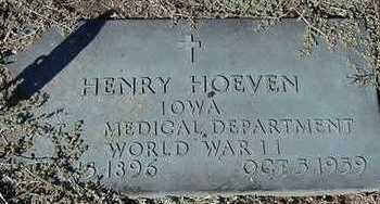 HOEVEN, HENRY D. 1959 - Sioux County, Iowa | HENRY D. 1959 HOEVEN