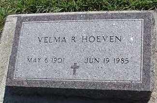HOEVEN, VELMA R. - Sioux County, Iowa   VELMA R. HOEVEN