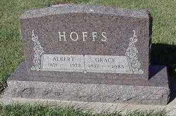 HOFFS, GRACE (MRS. ALBERT) - Sioux County, Iowa | GRACE (MRS. ALBERT) HOFFS