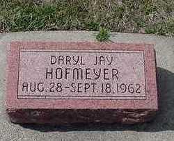 HOFMEYER, DARYL JAY - Sioux County, Iowa | DARYL JAY HOFMEYER
