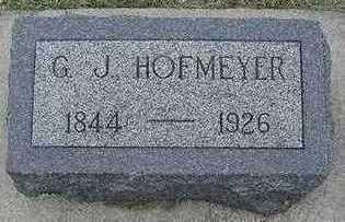 HOFMEYER, G. J. - Sioux County, Iowa | G. J. HOFMEYER