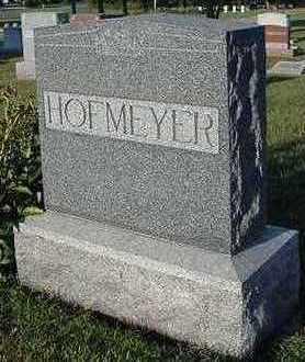 HOFMEYER, HEADSTONE - Sioux County, Iowa | HEADSTONE HOFMEYER