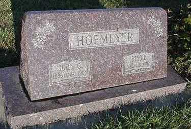HOFMEYER, BESSIE - Sioux County, Iowa | BESSIE HOFMEYER