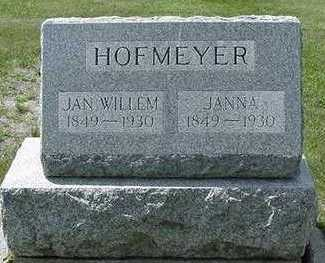 HOFMEYER, JANNA - Sioux County, Iowa | JANNA HOFMEYER