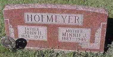 HOFMEYER, JOHN H. - Sioux County, Iowa | JOHN H. HOFMEYER