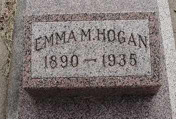 HOGAN, EMMA M. - Sioux County, Iowa   EMMA M. HOGAN