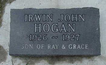 HOGAN, IRWIN JOHN - Sioux County, Iowa   IRWIN JOHN HOGAN