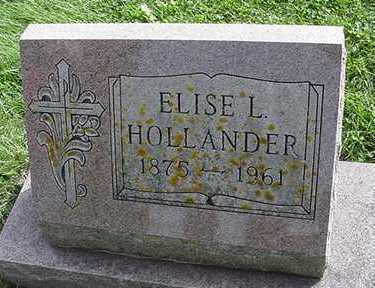 HOLLANDER, ELISE L. - Sioux County, Iowa | ELISE L. HOLLANDER