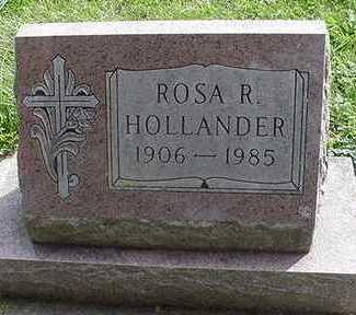 HOLLANDER, ROSA R. - Sioux County, Iowa | ROSA R. HOLLANDER