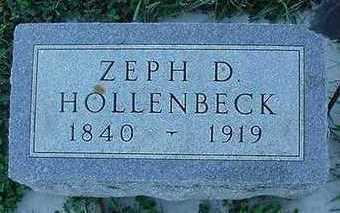 HOLLENBECK, ZEPH D. - Sioux County, Iowa | ZEPH D. HOLLENBECK