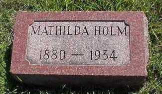 HOLM, MATHILDA - Sioux County, Iowa | MATHILDA HOLM