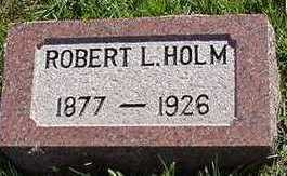 HOLM, ROBERT L. - Sioux County, Iowa | ROBERT L. HOLM