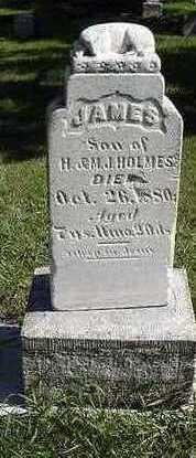 HOMER, JAMES - Sioux County, Iowa   JAMES HOMER