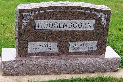 HOOGENDOORN, JAMES J. - Sioux County, Iowa | JAMES J. HOOGENDOORN