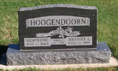 HOOGENDOORN, MERRITT J. - Sioux County, Iowa | MERRITT J. HOOGENDOORN