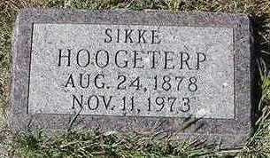 HOOGETERP, SIKKE - Sioux County, Iowa | SIKKE HOOGETERP