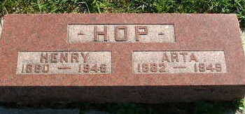 HOP, HENRY - Sioux County, Iowa | HENRY HOP