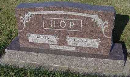 HOP, ELIZABETH (MRS. JACOB) - Sioux County, Iowa | ELIZABETH (MRS. JACOB) HOP