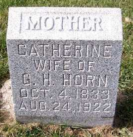 HORN, CATHERINE (MRS. G.H.) - Sioux County, Iowa | CATHERINE (MRS. G.H.) HORN
