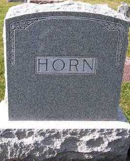 HORN, FAMILY HEADSTONE - Sioux County, Iowa | FAMILY HEADSTONE HORN