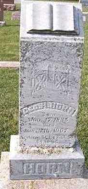 HORN, GEO. H. - Sioux County, Iowa | GEO. H. HORN