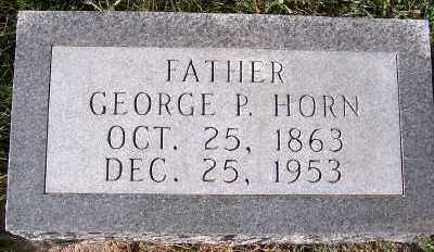 HORN, GEORGE P. - Sioux County, Iowa | GEORGE P. HORN