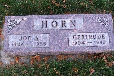 HORN, GERTRUDE - Sioux County, Iowa | GERTRUDE HORN
